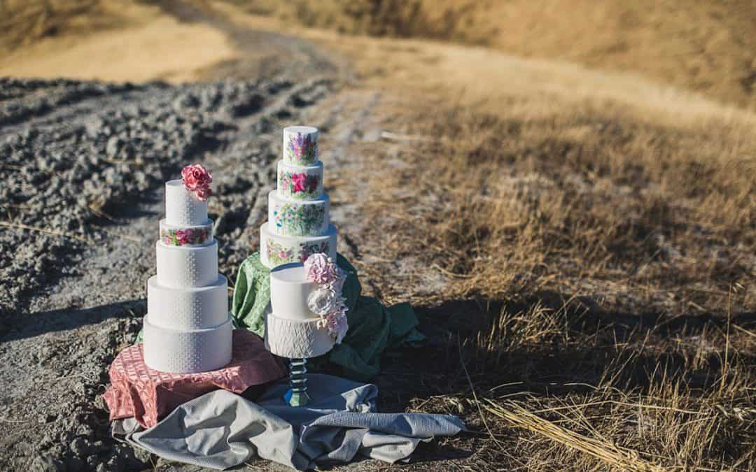 Tuscan Wedding Cakes in Elle Magazine