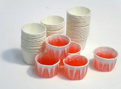 paper jello shot cups