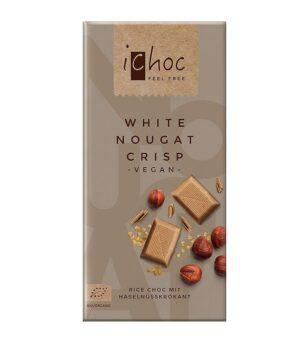 Bio čokolada iChoc nugat z lešnikom