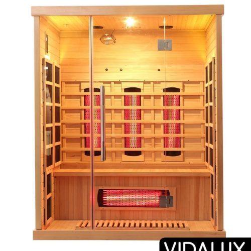 3 person sauna vidalux