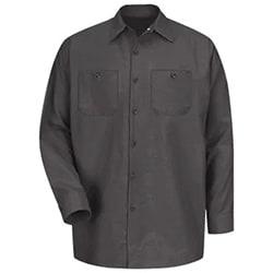 Industrial Work Shirt (LS, Red Kap)