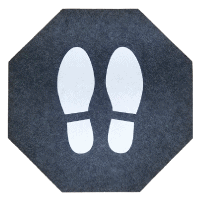stick-and-stand floor mats