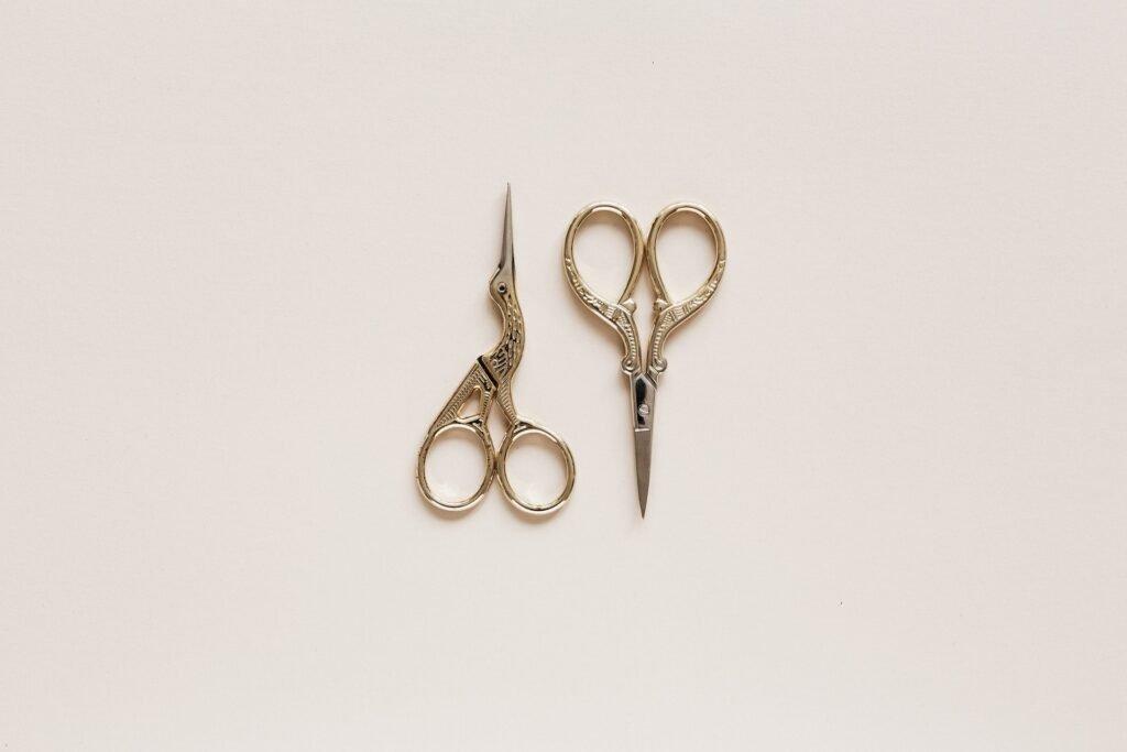 Short-Bladed Scissors