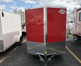 2 Cargo Mate 6X12 Ramp Door