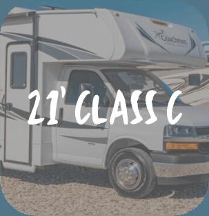 21 Foot Class C RV Rental