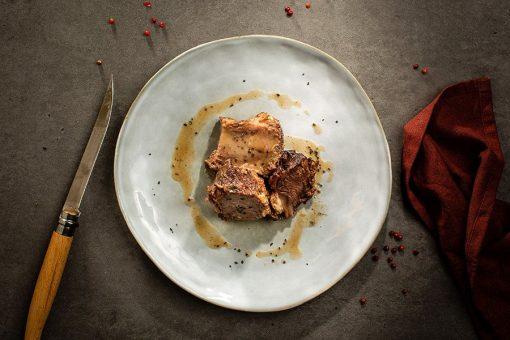 Guancia di manzo brasata ristorante affumico bologna