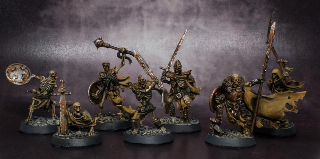 Some deathrattle skeletons for age of sigmar