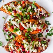 Mediterranean Sweet Potatoes