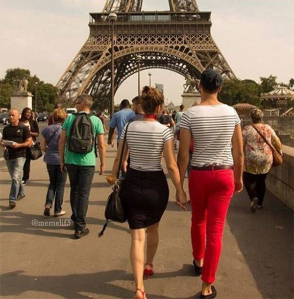 French stereotype and cliches: The French striped shirt