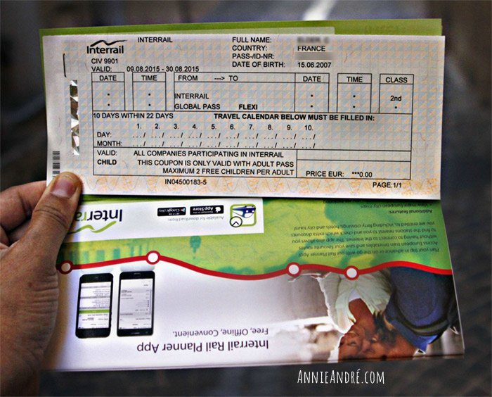 freedom to jump on and off trains with a euro rail pass or interail pass