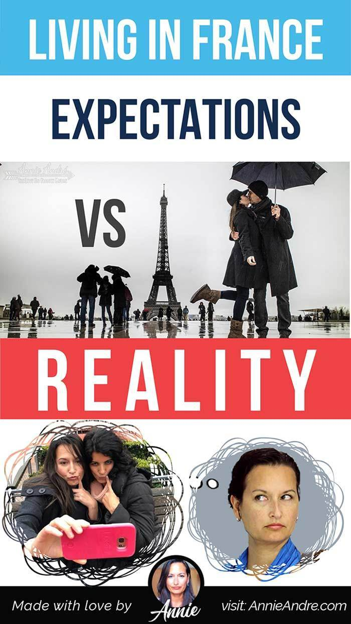LIVING IN FRANCE: Expectations vs reality: What people think I do vs what I really do. Life in France isn't always a box of chocolates.