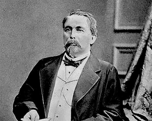 Photo of August Zang, who opened a viennoiserie in Paris and popularized the Kipfel which became the croissant