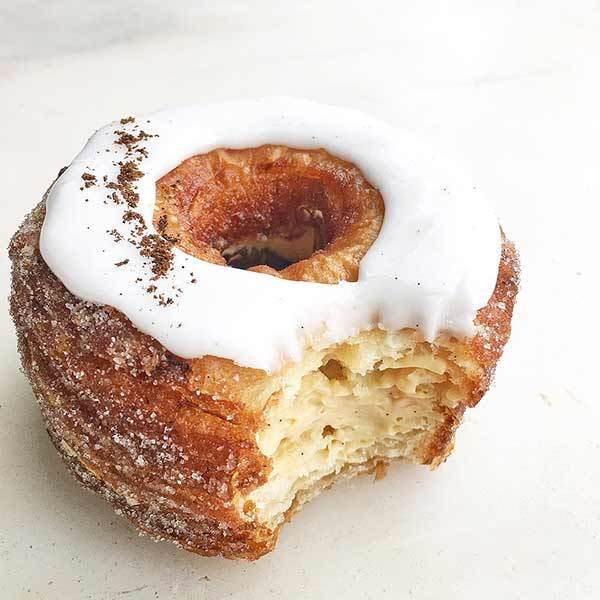 Cronut, a cross between a donut and a croissant