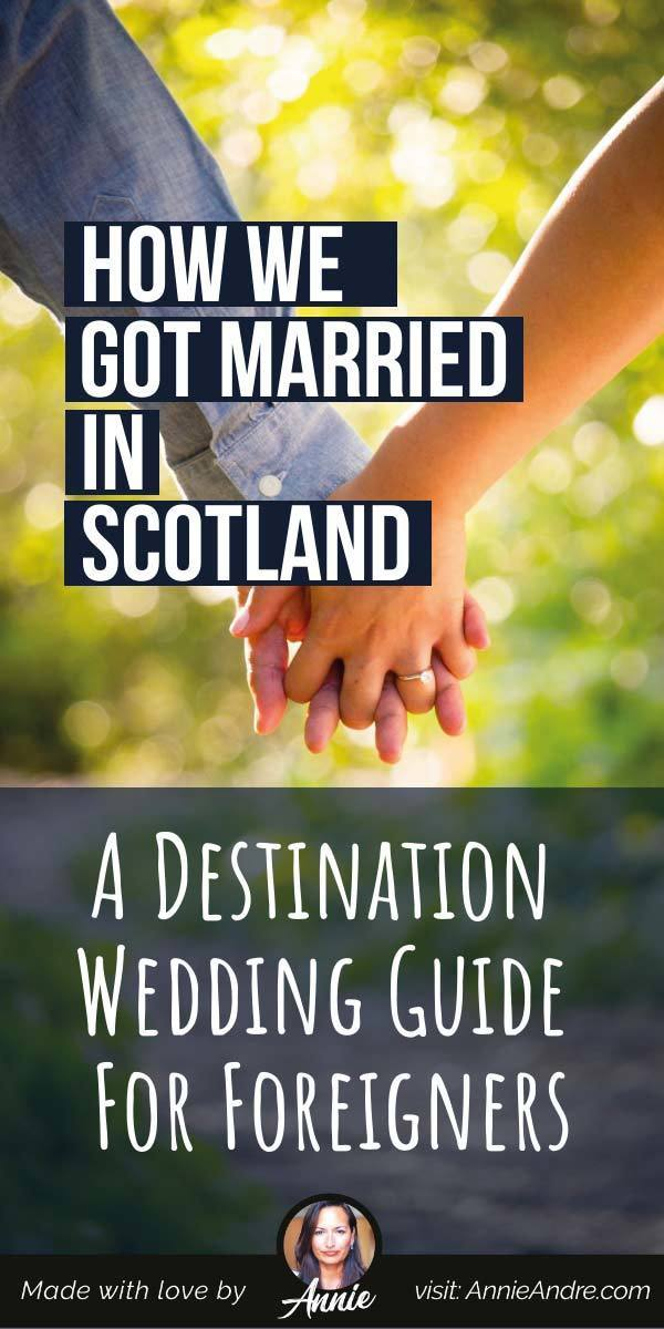 pin Elope and have destination wedding with the kids in Scotland