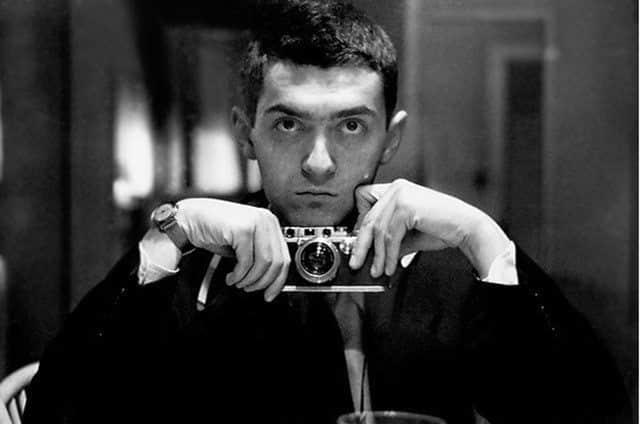 Auto Retrato de Stanley Kubrick, morto em 1999.