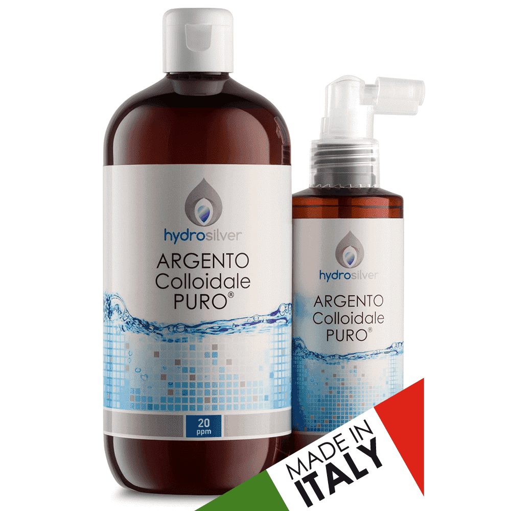 Argento colloidale made in italy