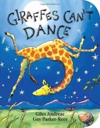 giraffes-cant-dance preschool book for kids