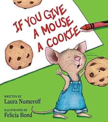 if you give a mouse a cookie preschool book for kids