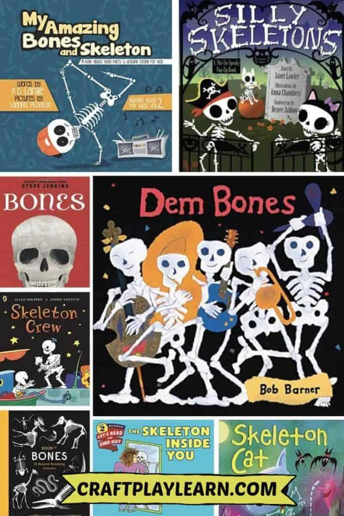 skeleton books for kids to read