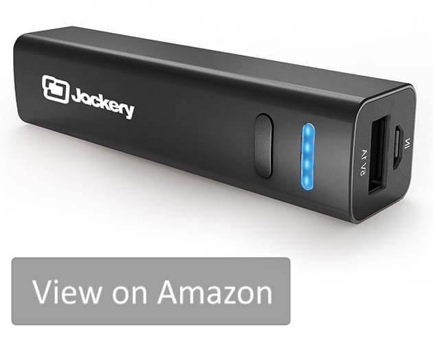 The Jackery Force 65 is the best small size battery pack on the market. There are no other power banks of that size with LED charge indicators.