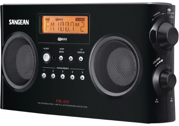 Sangean PR-D5BK is our pick for the best portable radio with stereo sound. Enjoy the audio quality rarely seen in portable radios.
