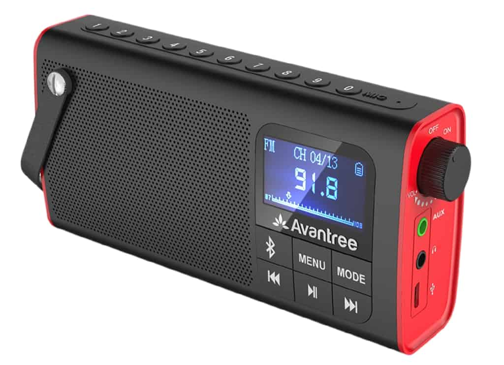 Avantree SP850 3-in-1 is very handy portable radio with Bluetooth. It is well made and almost fits into a pocket.