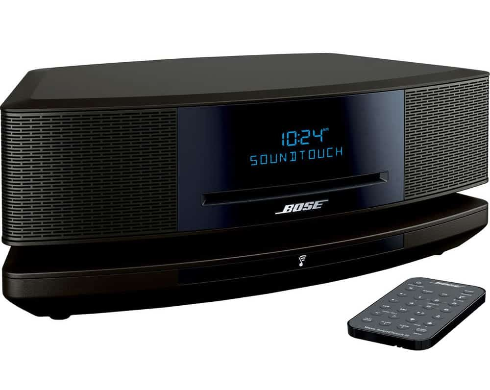 The latest Bose Wave SoundTouch Music System IV, works with Alexa, Espresso Black