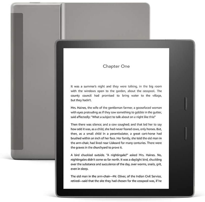 The Best eReader Overall - The Amazon Kindle Oasis is the top Kindle ever made. It is the new, worthy flagship.