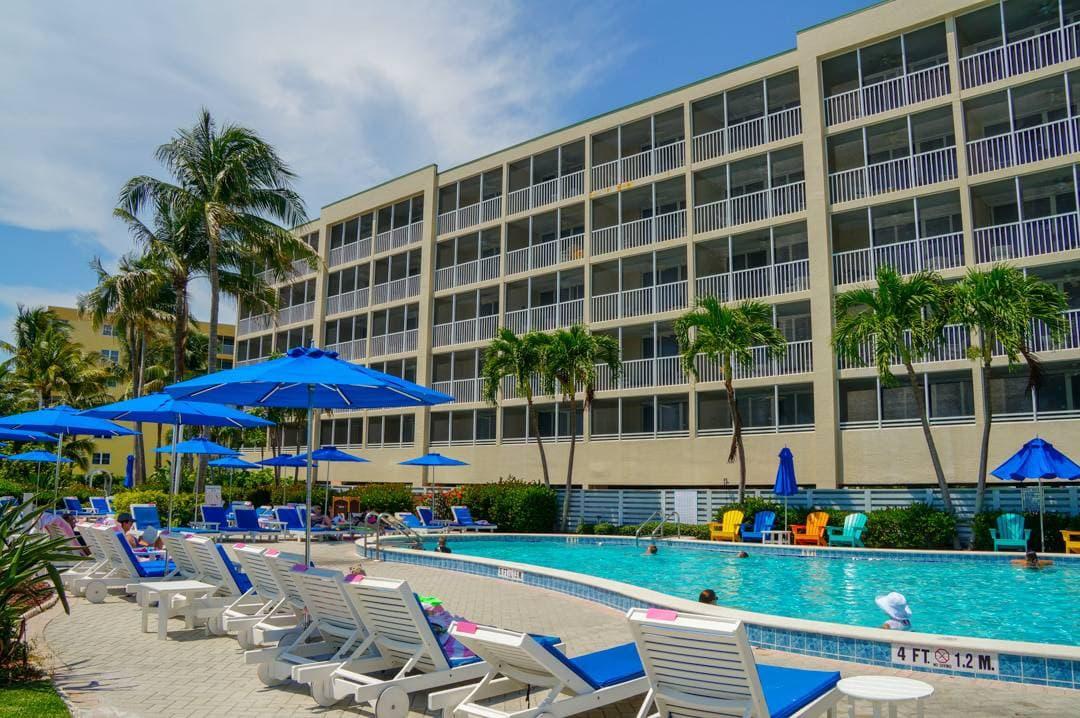 Adult Pool Pink Shell Beach Resort Fort Myers Beach Florida