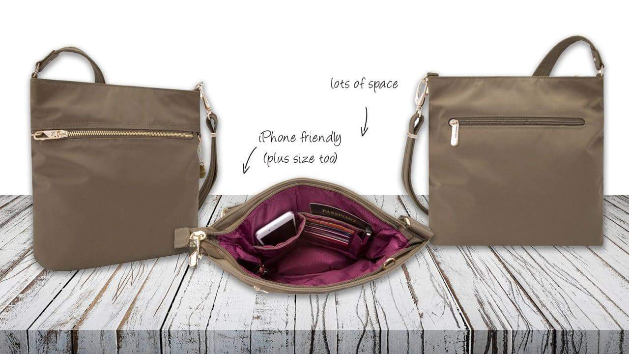 Anti-Theft Tailored N_S Slim Bag