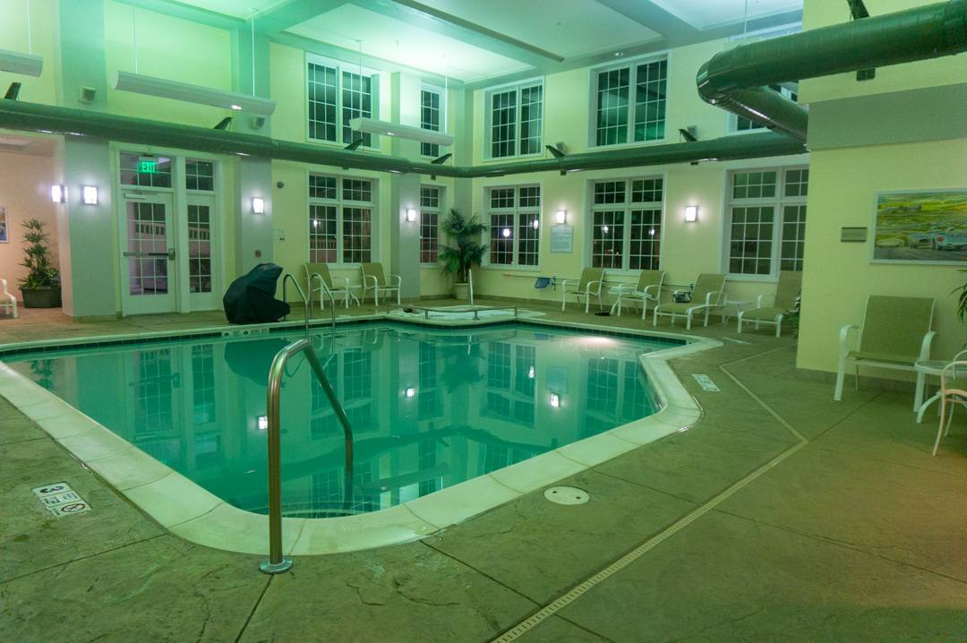 pool and hot tub Watkins Glen Harbor Hotel NY