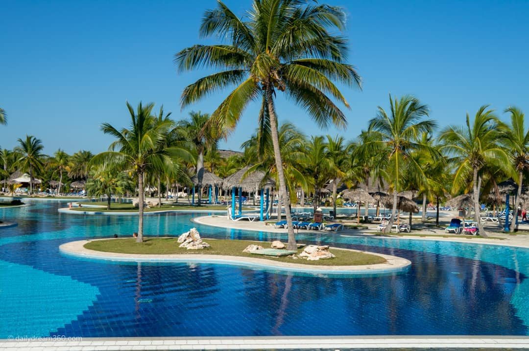 Main pool at Hotel Playa Pesquero Cayo Coco