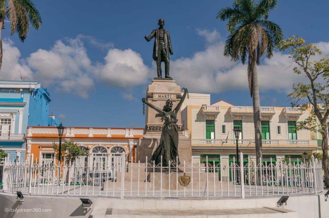 Main square in Matanzas Cuba