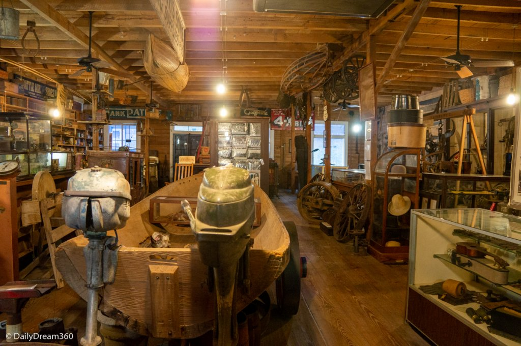 Museum in HJ Smith Hardware Store Covington