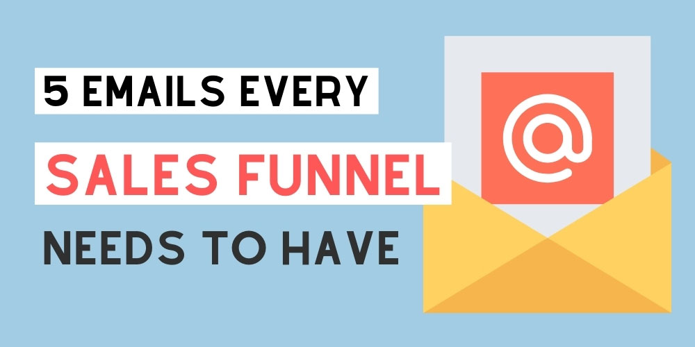 How to build an email sales funnel