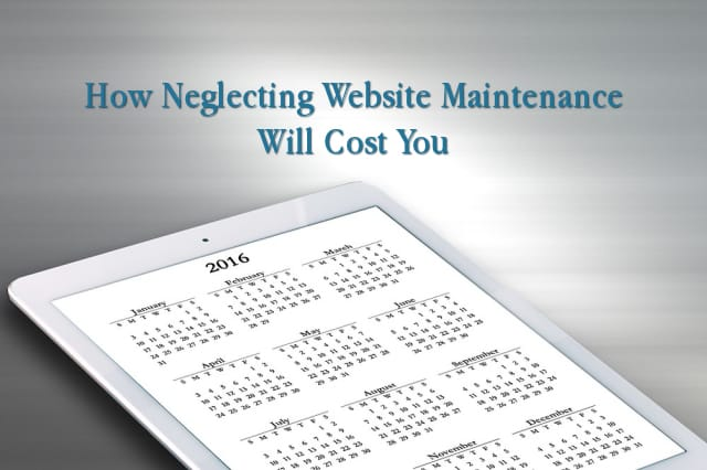 How Neglecting Website Maintenance Will Cost You