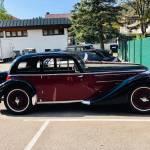 Srecanje oldtimerjev starodobnikov v kraju Titisee Rolls Royce Bentley Delahaye 2