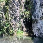 Skok v slap pod Iglico Bohinjska Bela 10 stopinj2