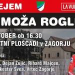 Sprejem Primoza Rogliza v Zagorju 15 oktober ob 1630 Modrijani