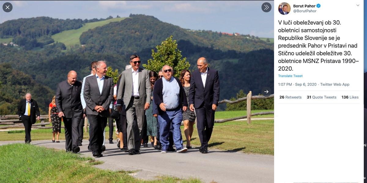 Borut Pahor in vlada
