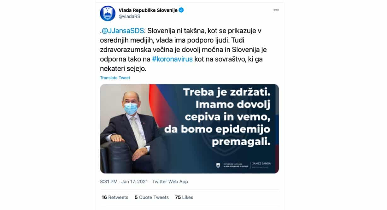 slovenija ima dovolj cepiva