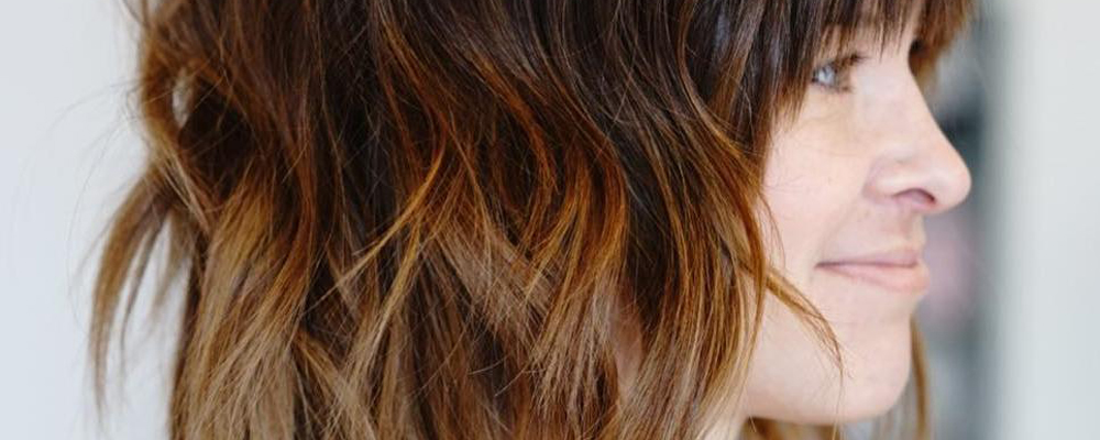 Shag ombre hairstyle