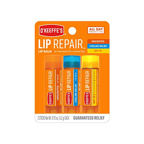 O'Keeffe's Lip Repair Lip Balm for Dry, Cracked Lips