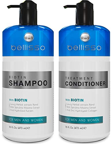 Bellisso Biotin Shampoo and Conditioner for Hair Growth