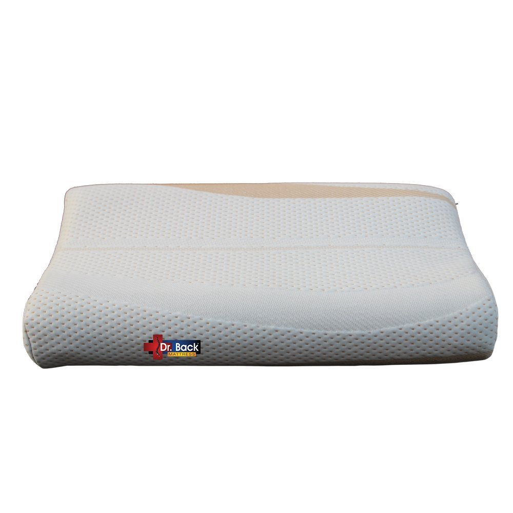 Impereal Contoured Memory Pillow - Low Neck Support - Orthopedic Pillow