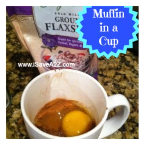 Muffin in a Cup from Dr Oz