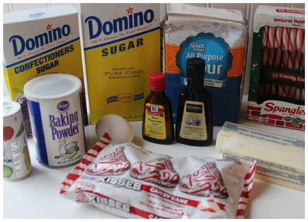 Easy Peppermint Cookies Recipe Ingredients