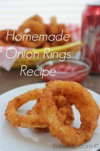 Homemade Onion Rings Recipe