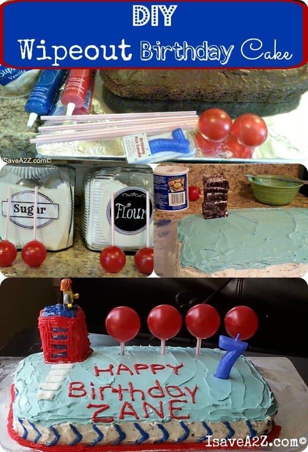 wipeout birthday cake