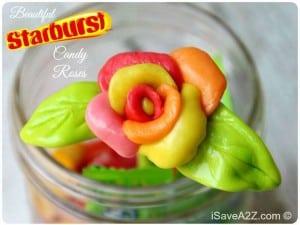 Edible Starburst Candy Roses